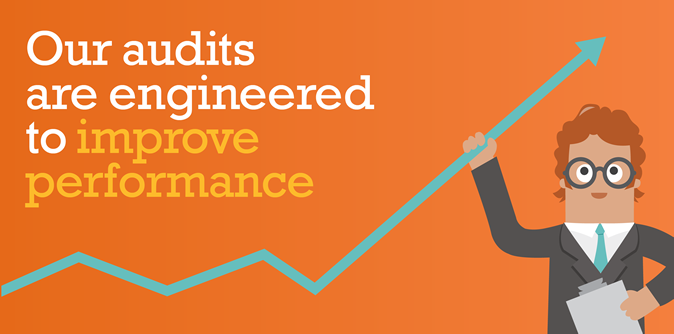 Our audits are engineered to improve performance.